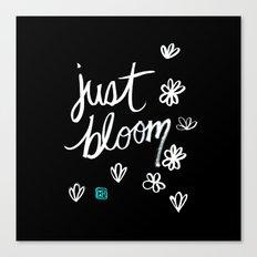 Just Bloom Canvas Print