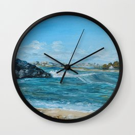 Sea Shore Wall Clock