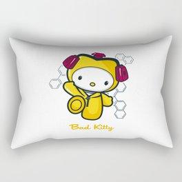 Hello Bad Kitty Rectangular Pillow