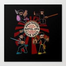Sensei Pepper's Martial Arts Club Band Canvas Print
