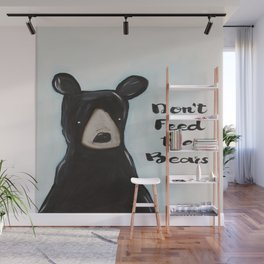 Don't Feed the Bears Wall Mural