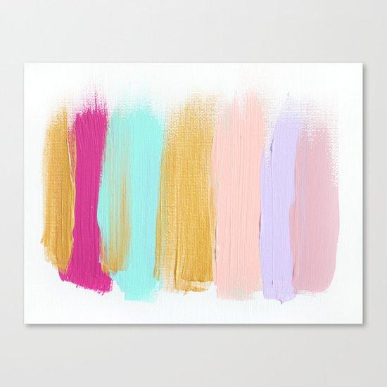 Colors 63 Canvas Print