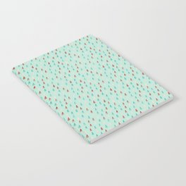 Raindrop Confetti Notebook