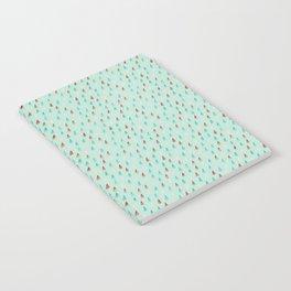 Raindrop Confetti Notebook