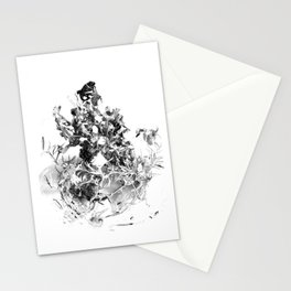 floating roots Stationery Cards