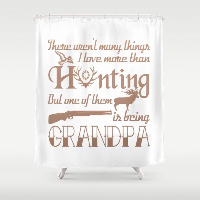 Hunting Grandpa Shower Curtain