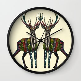 deer vanilla Wall Clock