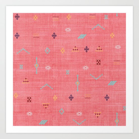 Cactus Silk Pattern in Pink by beckybailey1