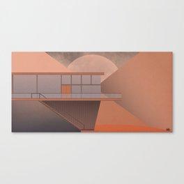 Canyon House Canvas Print