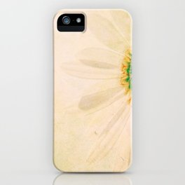 Prickly Yellow Flower iPhone Case