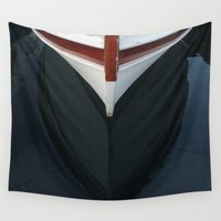 boat Wall Tapestries featuring boat by habish