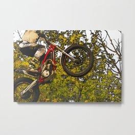 Airtime - Dirt-bike Racer Metal Print