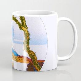 Hokusai Mount Fuji Eruption Coffee Mug