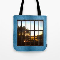 the office Tote Bags featuring Office imagination. by South43
