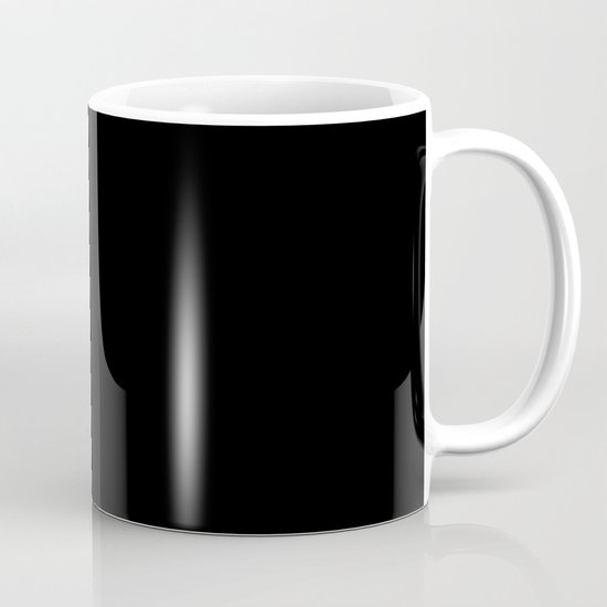 Peonia in Black Mug