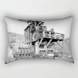 Lost Horse Gold Mill Rectangular Pillow