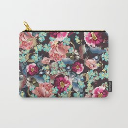 Beautiful victorian rose pattern in vintage style Carry-All Pouch