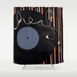Healed by Music Shower Curtain