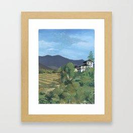 Day65 - A Place In Bhutan Framed Art Print