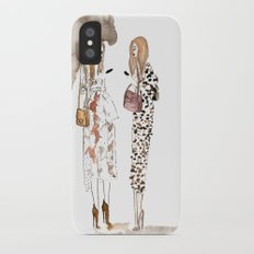 Street style iPhone X Slim Case