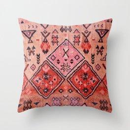 Epic Rustic & Farmhouse Style Original Moroccan Artwork  Throw Pillow