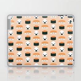 Salmon Dreams in peach, large Laptop & iPad Skin