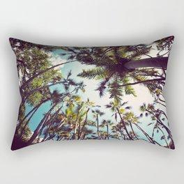 Many Palms. Rectangular Pillow