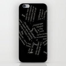 Free Jazz iPhone & iPod Skin