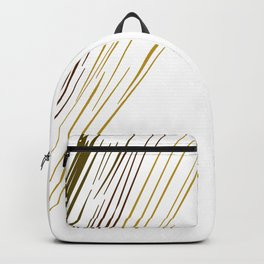 wild design lines exotico Backpack