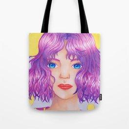 Violetta [Copic and Colored Pencil Semirealistic Portrait] Tote Bag