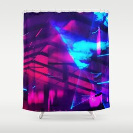 iDeal - Firefly LaserLights Shower Curtain