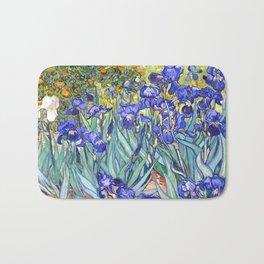 Vincent Van Gogh Irises Bath Mat