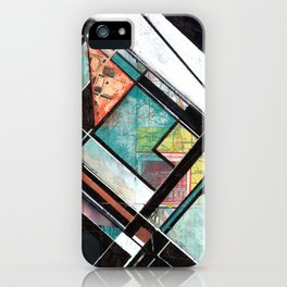 Mapping Moments 001 (Thoughts on Constructivism) iPhone Case