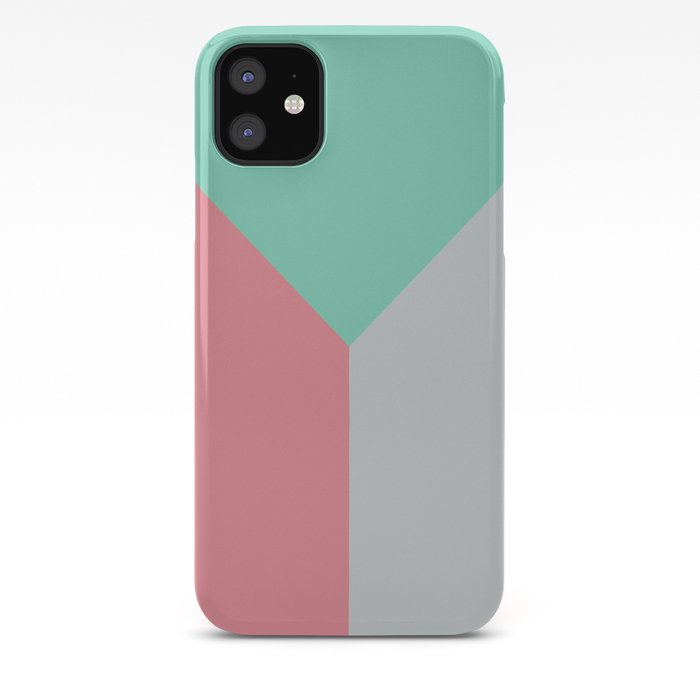 Galaxy Triangle Tricolor iphone case