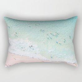 Beach Sunday Rectangular Pillow