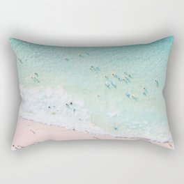 Beach Sunday Rectangular Pillow