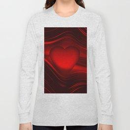 Red heart 16 Long Sleeve T-shirt