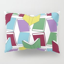 Books Pillow Sham