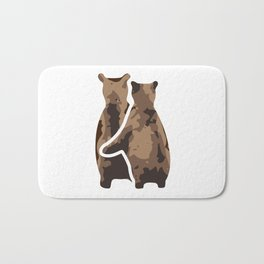 BEAR COUPLE Bath Mat