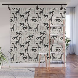 Safari Confetti Party Wall Mural