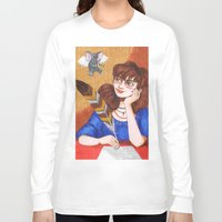 inspiration Long Sleeve T-shirts featuring Inspiration by Anna Gogoleva