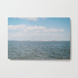Charleston Water Metal Print