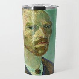 Self Portrait (dedicated to Paul Gauguin) Travel Mug