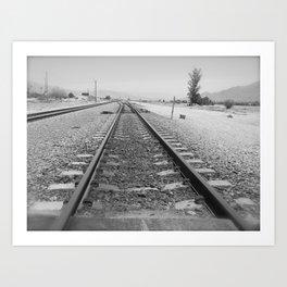 Tracks to Anywhere Art Print