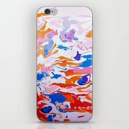 plastic wave iPhone Skin