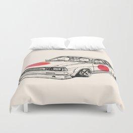 Crazy Car Art 0180 Duvet Cover