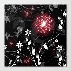 Midnight Garden Canvas Print
