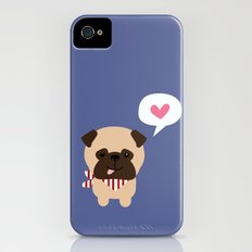 Pancho the Pug iPhone (4, 4s) Slim Case