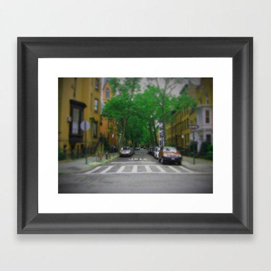 New York in 20 pics - Pic 8. Framed Art Print
