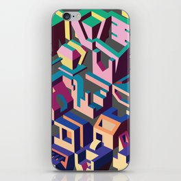 Psychedelic Dissection iPhone Skin
